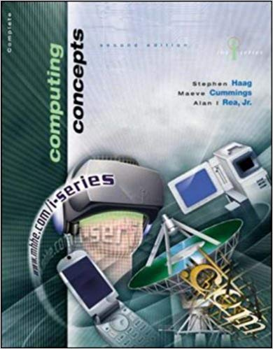 Computing concepts : introductory edition